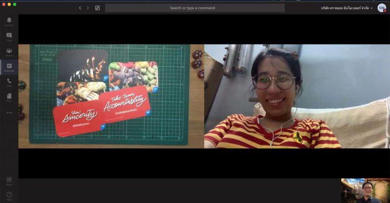โค้ชด้วยการ์ดแบบออนไลน์ ให้กับคุณครูในโครงการทีชฟอร์ไทยแลนด์